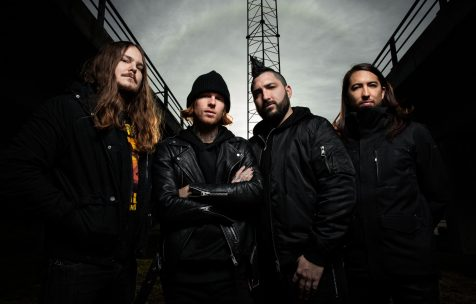Of Mice & Men photographed in Copenhagen